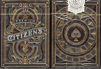 Citizen Deck Playing Cards Poker Size USPCC theory11 Custom Limited New Sealed