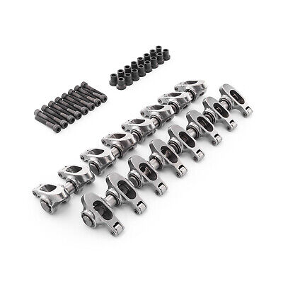 Chevy Ls 1.8 - Non Adjustable Stainless Steel Roller Rockers & Pedestals & Bolts