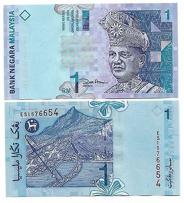 Malaysia P-39 1 Ringgit Year ND 2000 Polymer Uncirculated FREE SHIPPING