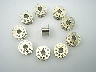 20 Brother Domestic Sewing Machine Metal Bobbins Also Fit Other Makes & Models