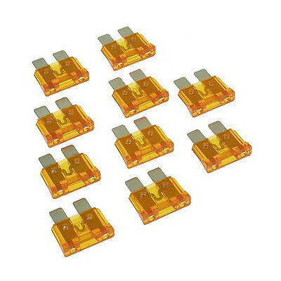 Lot of 10 Qty 40 Amp (40A) ATO / ATC Blade Fuses, Made in the Netherlands, #172