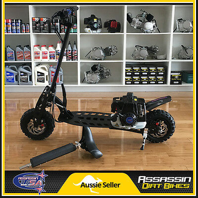 Assassin USA 71cc 3 Speed Petrol Gas Scooter Adult Kids NOT 49cc
