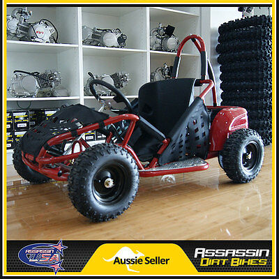 2017 1000 Watt BRUSHLESS 48V KIDS Buggie Buggy Go Kart ATV 48V20Ah