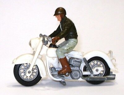 Britains No. 9692 U.s. Sherrif On Harley Davisdon Motorcycle
