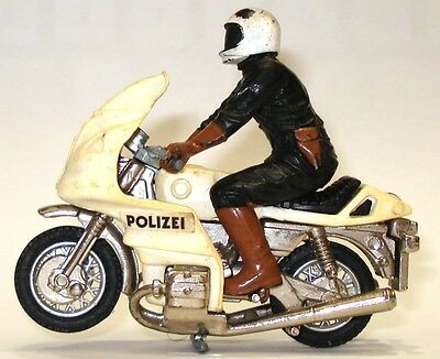 Britains No. 9695 German Policeman On Bmw Motorcycle