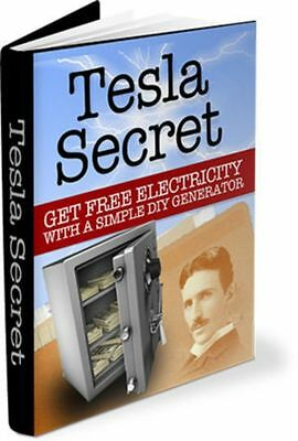 Generate Free Electricity Nikola Tesla Plans How to Build Your Own