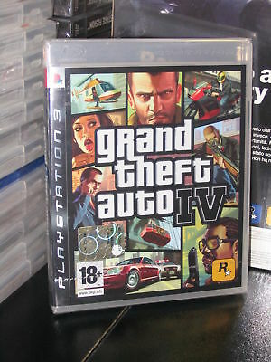 Grand Theft Auto Iv Gta 4 Gioco Sony Ps3 Nuovo Italiano