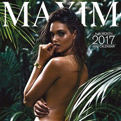 Maxim Mini Wall Calendar