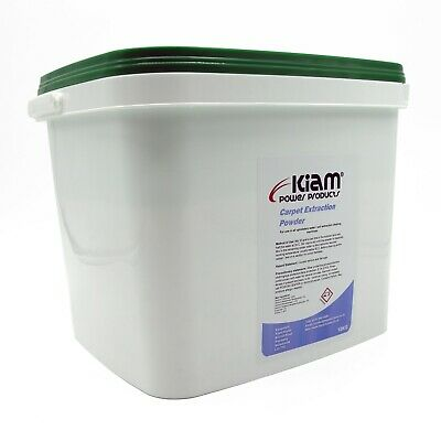Carpet and Upholstery Extraction Powder Detergent Cleaner