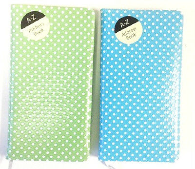 A-Z Slim Pocket Size Address Books Different Design Email Telephone Address Name