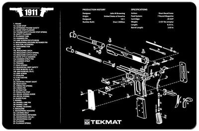 Gun Schematics And Diagrams on 1911 disassembly diagram, 1911 receiver diagram, 1911 component diagram, 1911 assembly diagram,