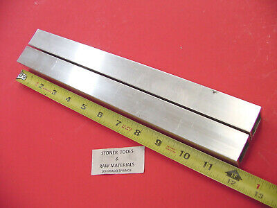"2 Pieces 1-1/2""x 1-1/2""x 1/8"" Wall x 12"" Long ALUMINUM SQUARE TUBE 6063 T52"