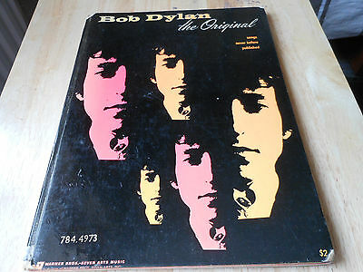 BOB DYLAN THE ORIGINAL  hard back book SONGS NEVER BEFORE PUBLISHED