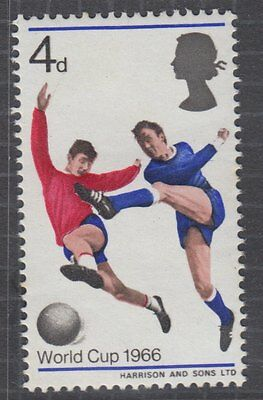 GB VARIETY : 1966 World Cup  4d ord 'Broken Shadow by ball'' MNH