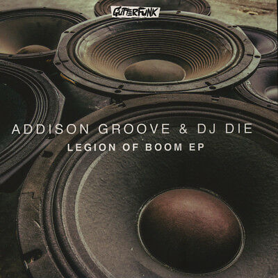 "Addison Groove & DJ Die - Legion of Boom EP (Vinyl 12"" - 2016 - UK - Original)"