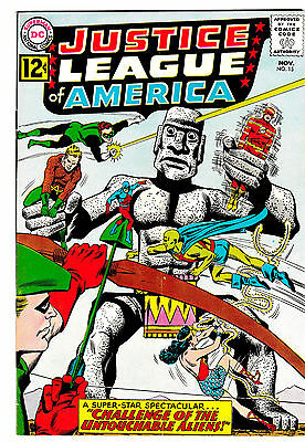 JUSTICE LEAGUE OF AMERICA #15 (VG/FN) Vintage Silver-Age DC Issue! LQQK!