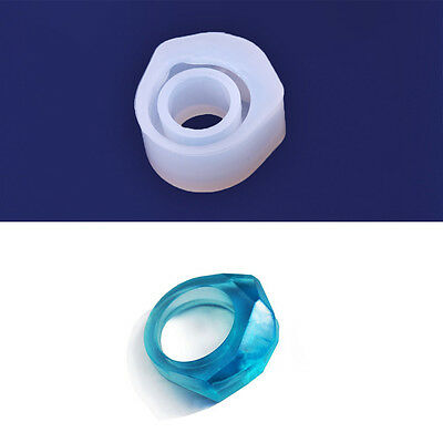 1 pcs Clear silicone Mold three sizes chunky ring mold DIY Jewelry Mold