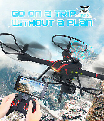 JJRC H11WH 2.4G 4CH 6-Axle WiFi FPV Quadcopter RTF RC Drone with 2.0MP Camera