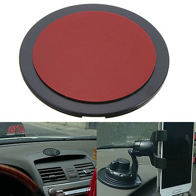 Round Car Suction Cup Adhesive Dash Dashboard Mount Disc Pad For GPS Phone Stand