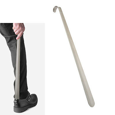 Extra Long Shoe Horn 50CM Stainless Steel Silver Metal Shoes Remover Shoehorn