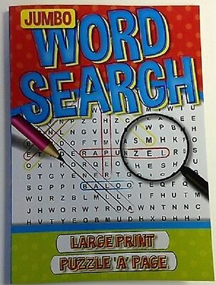 Word Search Red Puzzles Book 192 Pages Large Print Kids Child Fun Activity Book