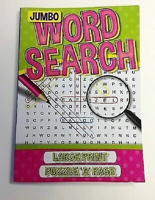 Word Search Green Puzzles Book 192 Pages Large Print Kid Child Fun Activity Book