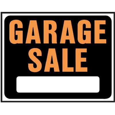 Hy-Ko Products SP-110 15 x 19 in. Jumbo Plastic Garage Sale Sign, Pack Of 5