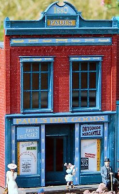 PIKO PAUL'S DRY GOODS G Scale Building Kit  62220 New in Box