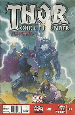 Thor comic issue 9 Godbomb Part 3 Marvel Modern age First print 2013 Aaron