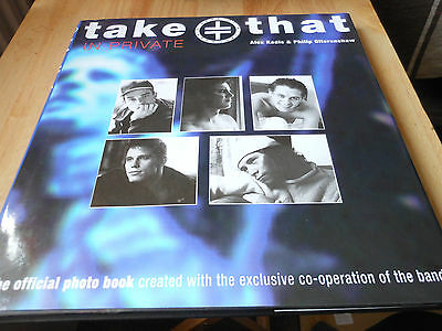 TAKE THAT  in private hardback book the official photo book around 127 pages