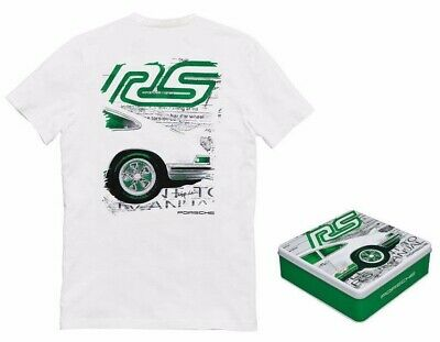 PORSCHE Driver's Selection Collectors T-Shirt White - RS 2.7 Collectiion