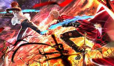 463 Fate/stay night: Unlimited Blade Works CUSTOM ANIME PLAYMAT FREE SHIPPING