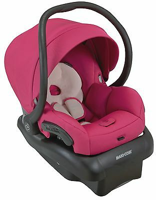 Maxi-Cosi Mico 30 Infant Baby Car Seat w/ Base Bright Rose 5-30 lbs NEW 2016