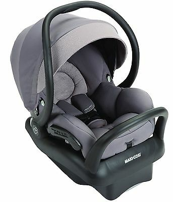 Maxi-Cosi Mico Max 30 Air Protect Infant Baby Car Seat w Base Grey Gravel NEW