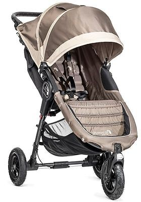 Baby Jogger City Mini GT Compact All Terrain Stroller Sand Stone  NEW 2016