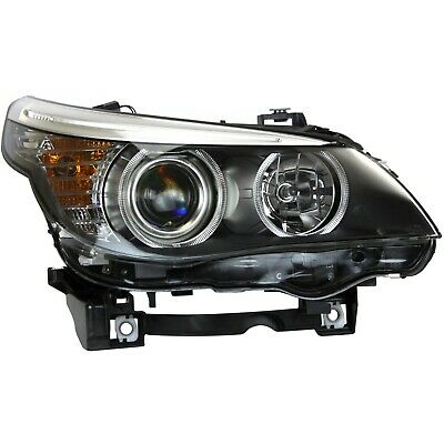 Headlight For 2008 528xi 2008-2010 BMW 528i 2009-10 528i xDrive Right With Bulb