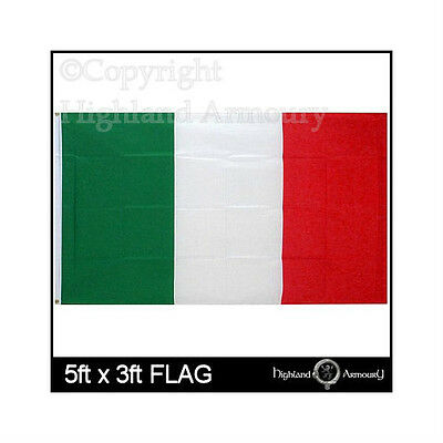 5' x 3' FLAG Italy Italian National Large Football New