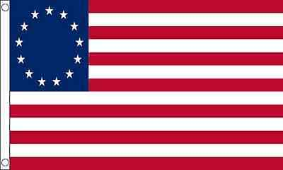 5' x 3ft FLAG Betsy Ross 13 Stars And Stripes US USA America United States Flags