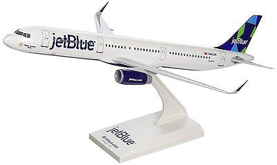 Skymarks SKR778 Jetblue Airbus A321-200 Prism Desk Display Model 1/150 Airplane
