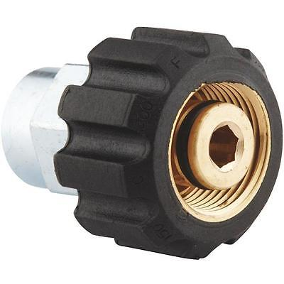 "3/8"" Male pipe to Female metric M22 Pressure Washer Connection by Apache"