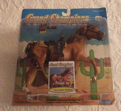 1992 Marchon Grand Champions Fox Trotter Stallion NO. 50025 Horse NIP New