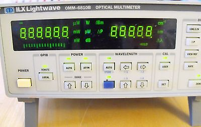 ILX Lightwave OMM-6810B Optical Multimeter 350 to 1650nm