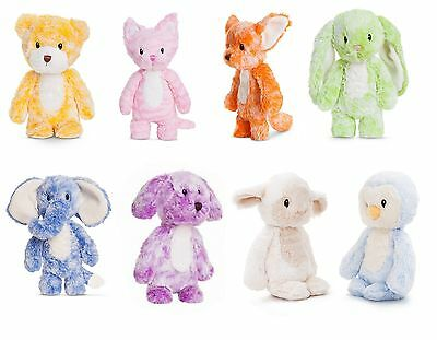 New Plush Aurora Smitties Cuddly Soft Toy Animal Baby Teddy Assorted Designs