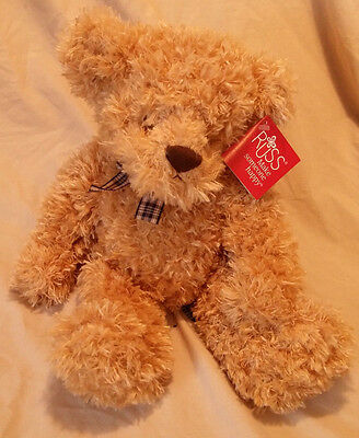 "Vintage Russ Berrie ""SPRIGG'S"" Teddy Bear Plush Stuffed Animal W/Tags 14"" #25844"