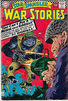 Star Spangled War Stories #126 (April/May 1966, DC) ***SGT. GORILLA***