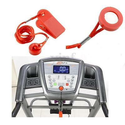 Universal Running Machine Treadmill Safety Key Magnetic Switch Lock Security