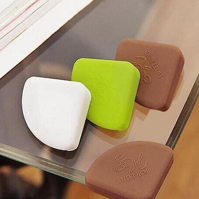 4x Baby Glass Table Desk Edge Guard Protector Bumpers Soft Corners Cushion