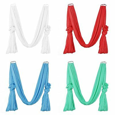 5M Deluxe Air Flying Yoga Hammock Aerial Yoga Fitness Swing Inversion Hammock