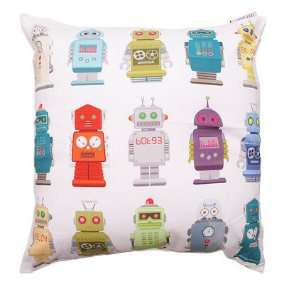 CUSHION COVER in RETRO ROBOTNIES ROBOT DESIGN ~ Great Gift