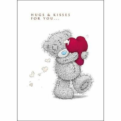 Birthday hugs and kisses for you greeting card 140 picclick uk hugs kisses me to you bear valentines day greeting card tatty teddy m4hsunfo